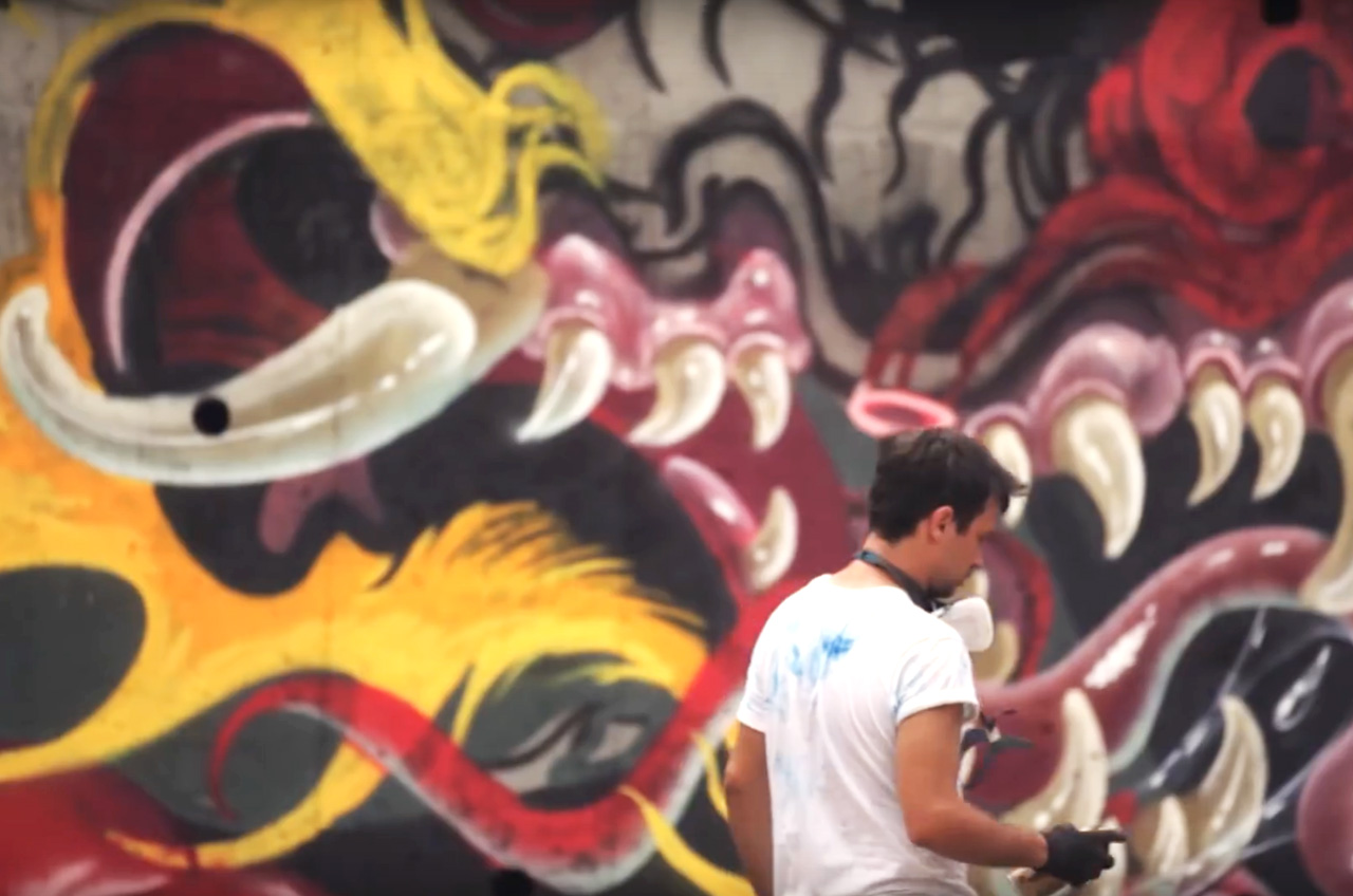 NYCHOS X UDON AT POW! WOW! TAIWAN