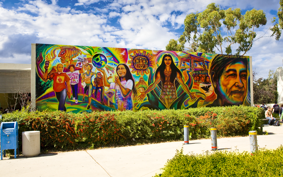 Chicano legacy mural pow wow hawaiipow wow hawaii for Chicano mural art