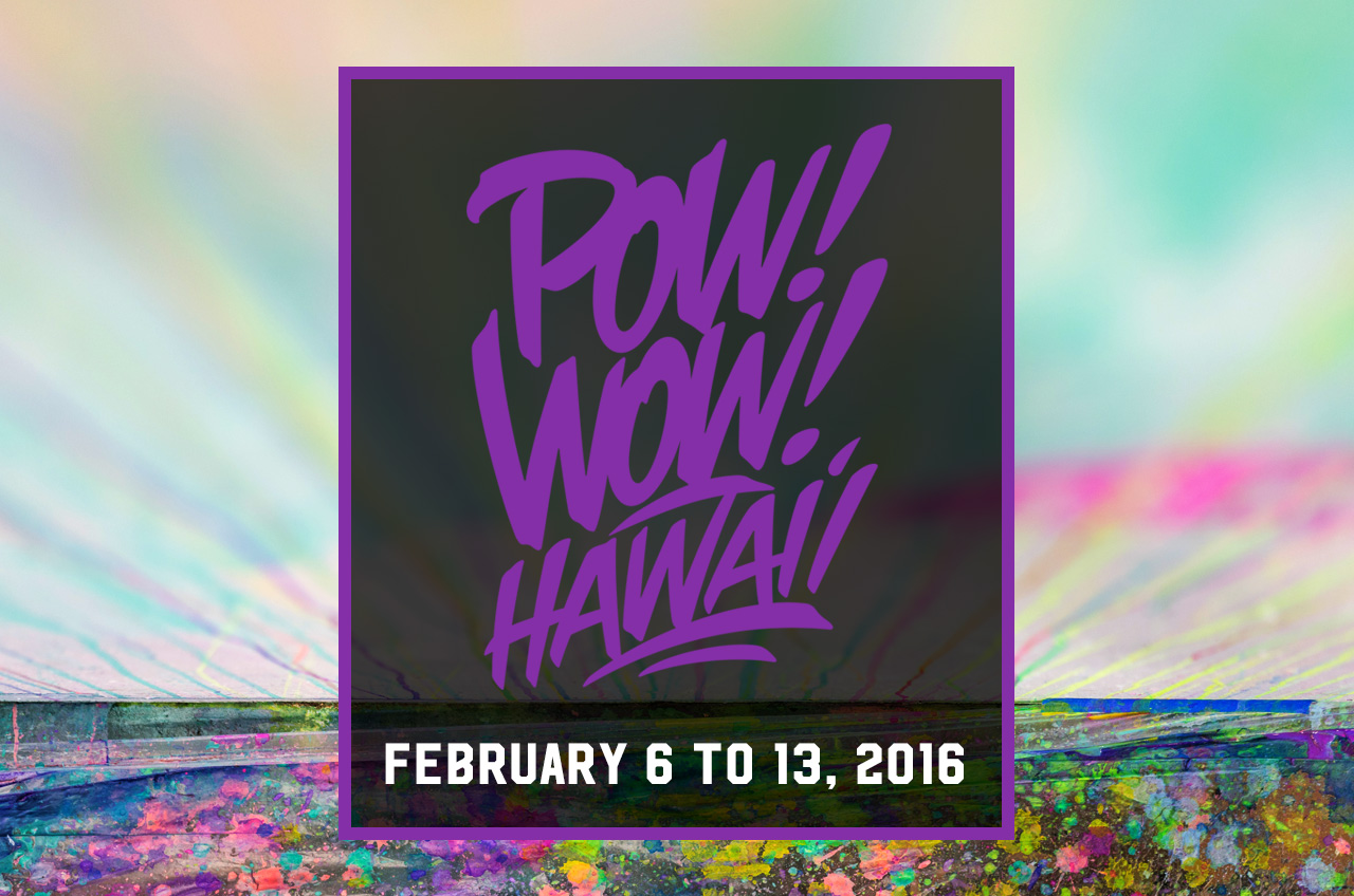 POW! WOW! HAWAII 2016