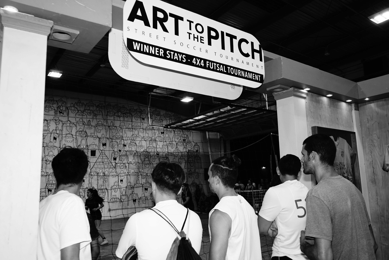 ART TO THE PITCH